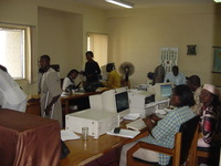 Radio Nigeria newsroom