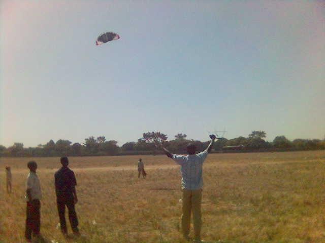 Caboose » Kite flying at NTI