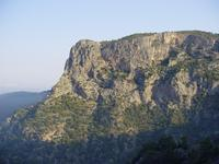 Cliffs above Kabak