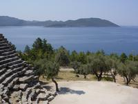 View from Kaş amphitheatre