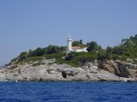 Lighthouse in Fethiye bay