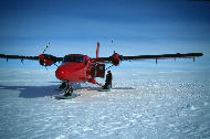 Twin Otter, front view