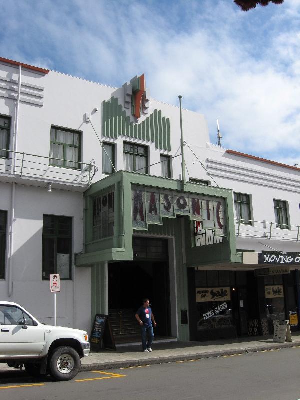 Caboose new zealand for Deco hotel napier