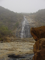 The waterfall at Farin Ruwa, near Akwanga