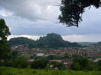 View across Kabba to Juju hill