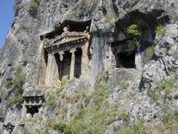 Other rock tombs above Fethiye